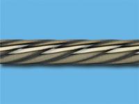 Труба металлическая твист 2 м (Антик)