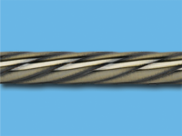 Труба металлическая твист 2,4 м (Антик)