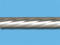 Труба металлическая твист 2 м (Сатин)