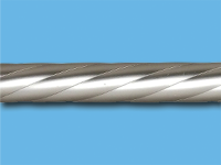 Труба металлическая твист 2,4 м (Сатин)