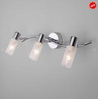 Настенный светильник с поворотными плафонами 20118/3 хром