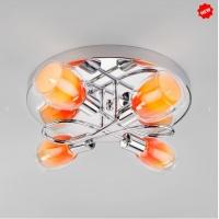 Потолочный светильник 30151/4 оранжевый
